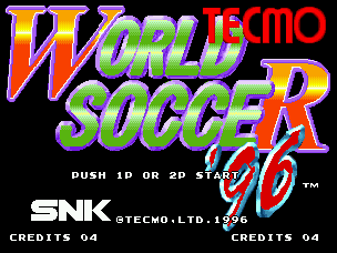 96 Tecmo 世界杯足球