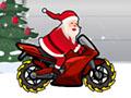 圣诞老公公骑摩托无限金币版